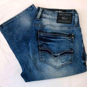 Buffalo David Bitton Six-x Slim Straight Jean